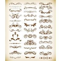 Vector Decorative Design Elements for Your Design