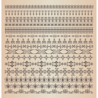 Ornamental Vector Borders or Dividers