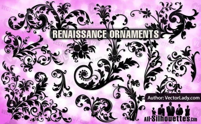 13 Renaissance Floral Ornament
