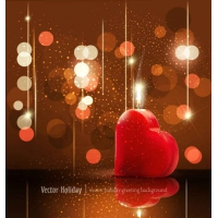 Valentine's Day Greeting Card Background