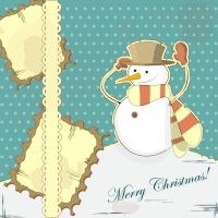 Snowman Decoration Painting 01