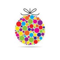 Colorful Xmas Ornament
