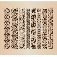 Border Decoration Elements Patterns