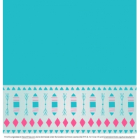 Free Teal Decorative Background