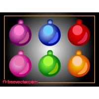 Christmas Ornamental Bright Ball Pack