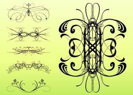 Decorative Swirls Set