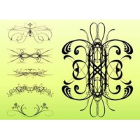 Decorative Swirls Set