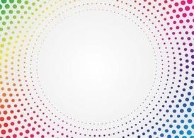 Rainbow Halftone
