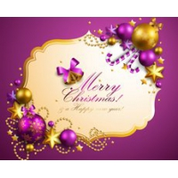 Christmas Decoration Item With Frame Card