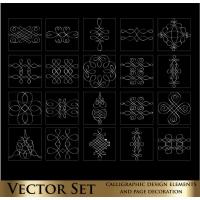 Decorative Elements Line Draft 02