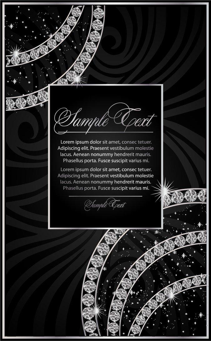 Diamond Decorative Background