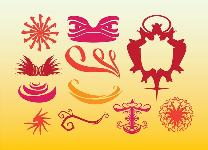 Tribal Graphics Ethnic Decoration