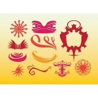 Tribal Graphics Ethnic Decoration