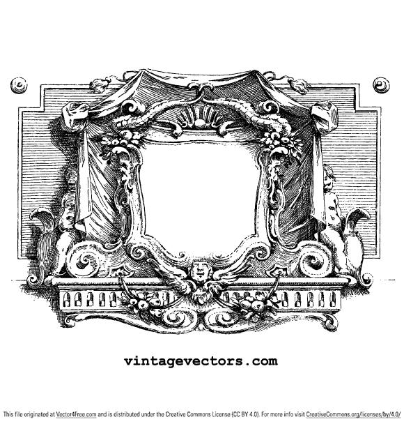 Vintage Cartouche