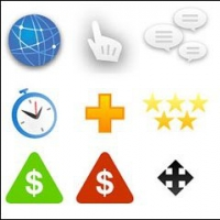 Web Design and Decoration Icon