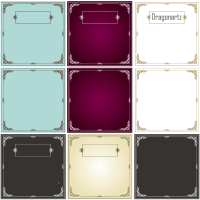 Ornament Swirl Border Design Frames Vector Free