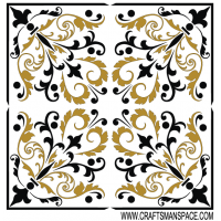 Free Vector Square Ornament Pattern