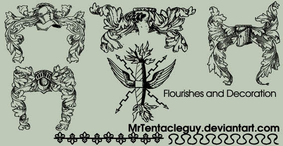 Flourishes and Decoration