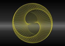 Circular Wireframe