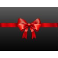 Glossy Photorealistic Present Ribbon