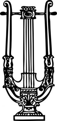 Decorative Lyre