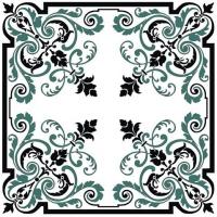 Squared Yantra free vector ornament