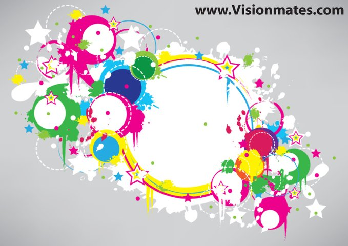 Colorful Circles Summer Banner