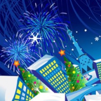 Cartoon Christmas Banner 01