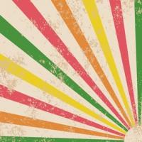Grunge Sunburst Banner
