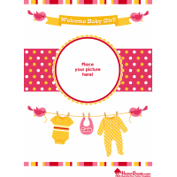 Free Baby Vectors to Welcome Your Little Girl's Arrival