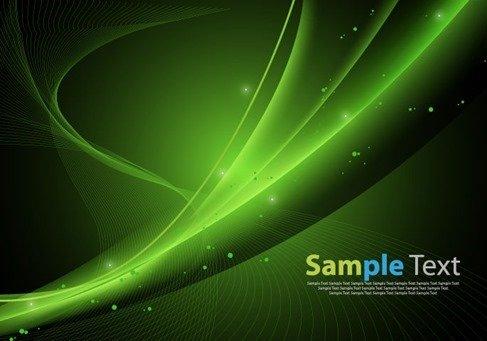 Green Design Abstract Background Vector Illustration Artwork