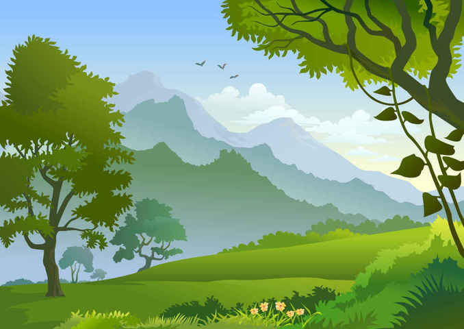Free Forest Landscape Frees