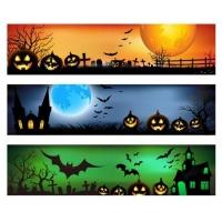 Vector Banner for Halloween