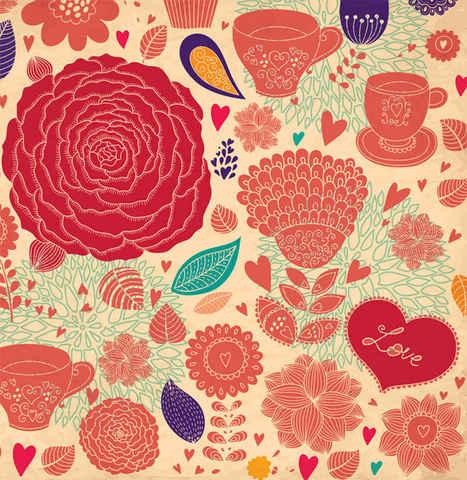 Flower Vector Backgrounds