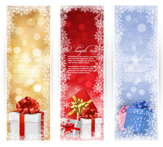 Christmas  Banner Cector-4