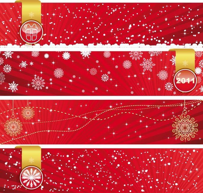 Festive Christmas Banner