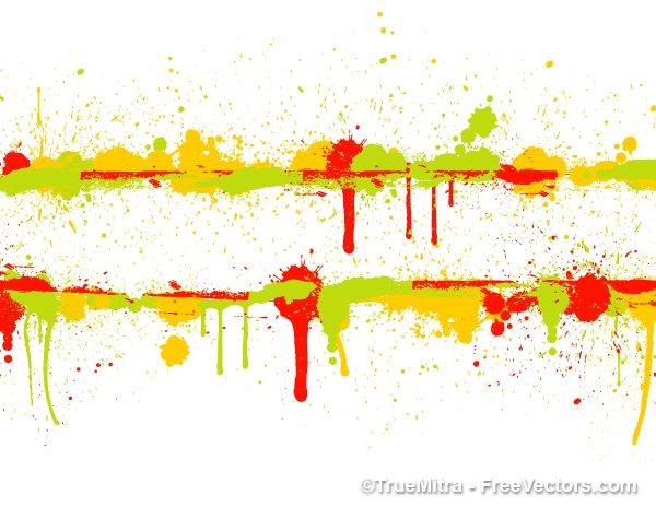 Grunge Paint Banner