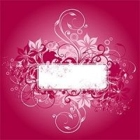 Fashion Pattern Vector Banner Material