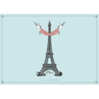 Free Hand Drawn Eiffel Tower
