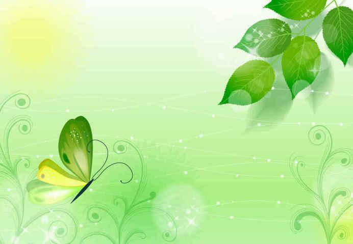Spring Green Background