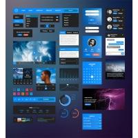 Bussolini.com Retina UI Kit • Free Download