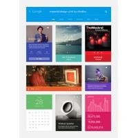 Material Design UI Kit PSD Free Download