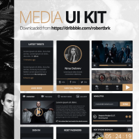 Small Media UI Kit