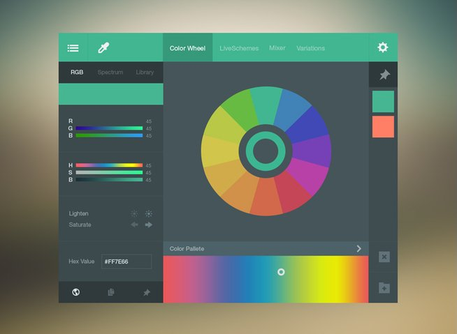 Color Picker UI Kit