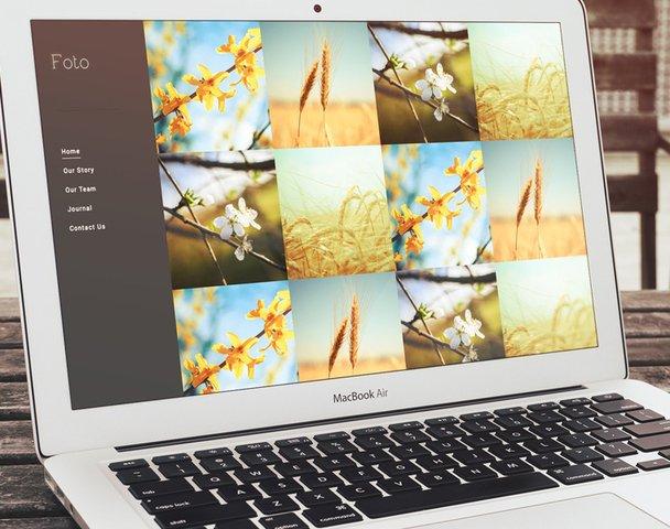 Foto HTML5 Theme