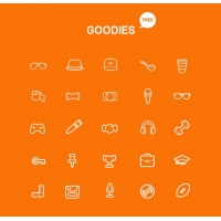 Goodies Icon Set
