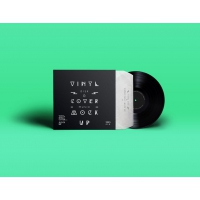 Psd Vinyl Cover Record Mock Up