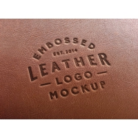 Leather Stamping Logo MockUp #2