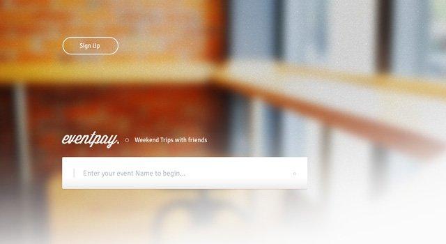 EventPay - Startup website PSD template