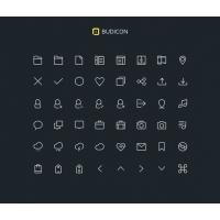 Budicon Line Icons